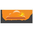 cloudflare LusoAloja domínios